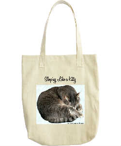 Sleeping Like a Kitty Tote