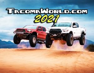2021 Tacoma World Wall Calendar