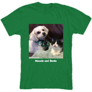 SPFs Miracle and Stevie T-Shirt