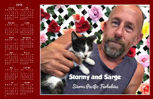 SPF Stormy and Sarge Poster Calendar