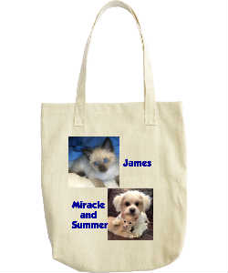 James, Miracle and Summer Tote