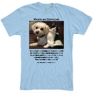 SPFs Stevie and Miracle Loop T-Shirt