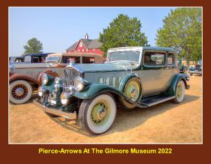 Pierce-Arrows At The Gilmore Museum 2019