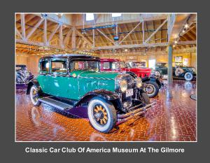 Classic Car Club Of America At The Gilmore