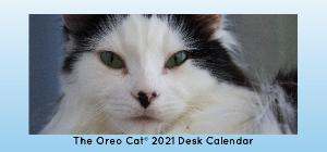 The Oreo Cat 2021 Desk Calendar