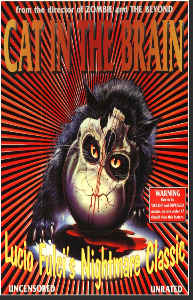 Vintage Movie Poster Print Cat in the Brain 11x17
