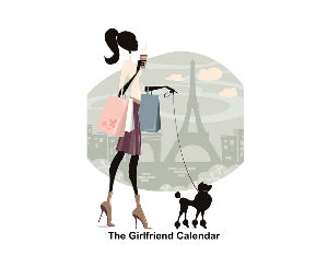 Girlfriend Chic Calendar