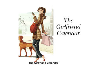 3rd Edition Girlfriend Calendar 2018