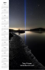 Iceland Night poster 2021