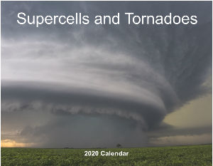 2020 Supercells and Tornadoes calendar