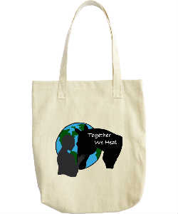 Together We Heal Tote Bag