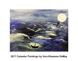 2017 Calendar Paintings by Vera Klaassen DeMay