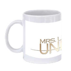 Mrs USA GOLD mug