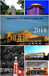 UNIVERSITY OF SOUTH CAROLINA PHOTO NOTEBOOK