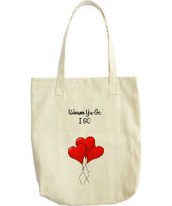 Wherever You Go, I GO romantic bag