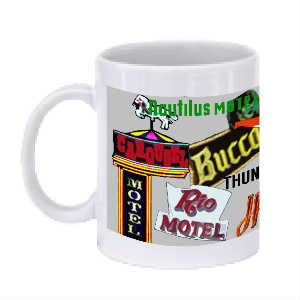Wildwood Retro Motel Mug