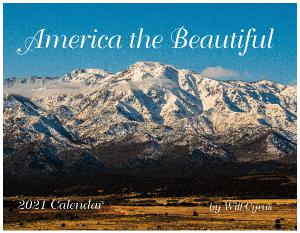 America the Beautiful 2021 Calendar