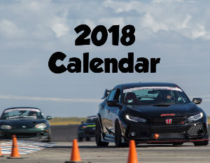 2018 Time Attack Car Calendar