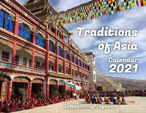 2021 Traditions of Asia Calendar