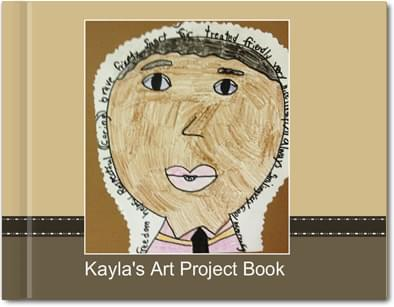 kids-artwork photo books