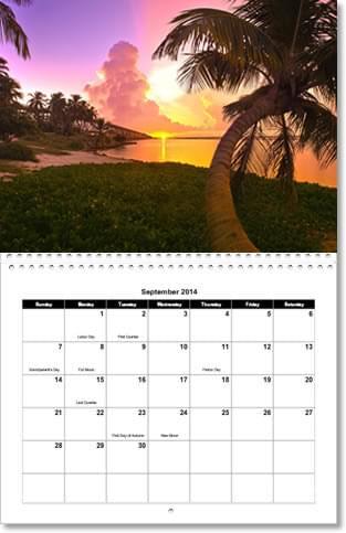 picture calendars