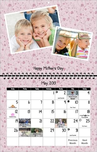 mother's day-photo-calendars