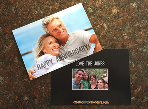 first birthday photo cards