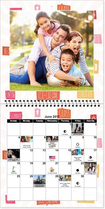 create 12x12 custom photo calendars  create photo calendars