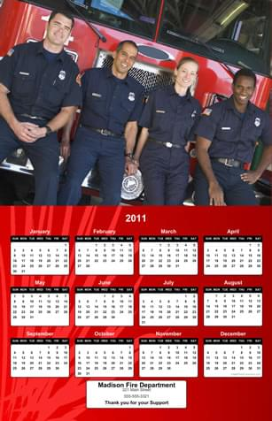 firefighting calendar