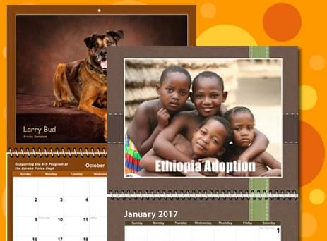 fundraising photo calendars