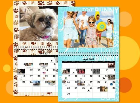 Create Photo Calendars - Custom Wall Calendars, Personalized ...