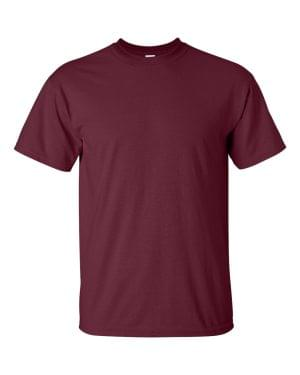 t-shirt color Maroon