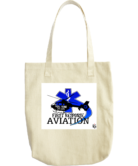 First Response Aviation Tote Bag (Blue)