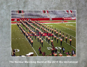 Normal Marching Band At The 2018 Isu Invitational Calendar Create