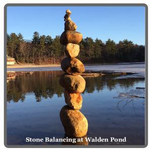 Stone Balancing At Walden Pond Calendar Create Photo Calendars